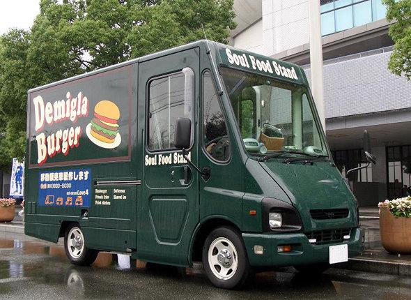 ハンバーガー移動販売車輌