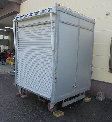 移動式中古コンテナ店舗0003083884
